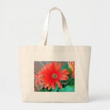 Beautiful Daisy Flower Jumbo Tote Bag
