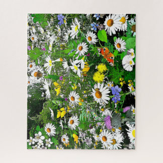 Beautiful Daisy Garden Puzzle