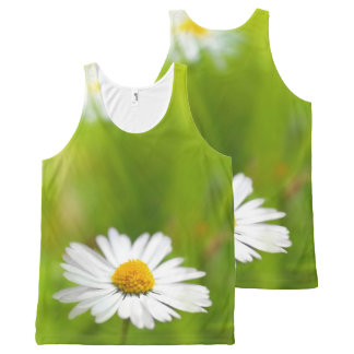 Beautiful daisy, print all over All-Over print singlet