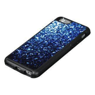 Beautiful Dark Blue glitter sparkles OtterBox iPhone 6/6s Case