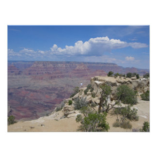 Beautiful Day At Grand Canyon Poster