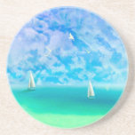 Beautiful Day For Sailing Drink Coasters