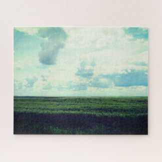 Beautiful Day in The Prairies Jigsaw Puzzle