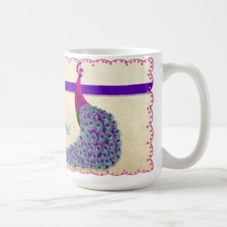 Beautiful Day - Peacock Mug