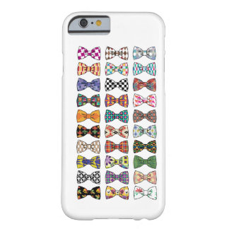 Beautiful Decorative Bow Tie Patterns iPhone 6 cas Barely There iPhone 6 Case