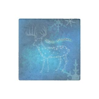 Beautiful deer stone magnet