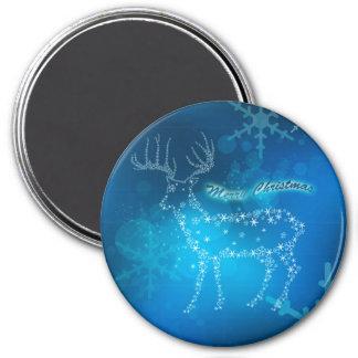 Beautiful deer refrigerator magnet