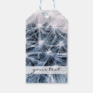 beautiful delicate dandelion flower photograph gift tags