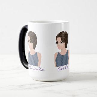 Beautiful delicate e magic mug