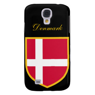 Beautiful Denmark Flag Samsung Galaxy S4 Case