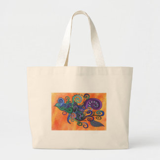 Beautiful design on a handy tote bag.