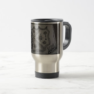 beautiful designed travel mug