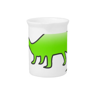 beautiful dinosaur drink pitchers