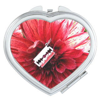 Beautiful Disaster Flower compact Makeup Mirror