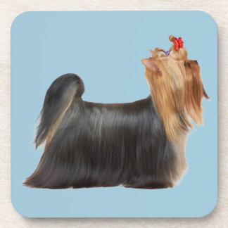 Beautiful dog designs beverage coasters
