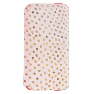 Beautiful Dots Design Incipio Watson™ iPhone 6 Wallet Case
