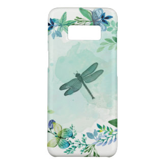 Beautiful Dragonfly Butterfly And Flowers Case-Mate Samsung Galaxy S8 Case