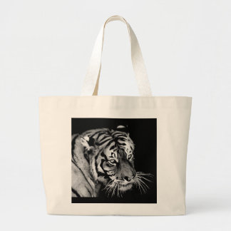 Beautiful dramatic Tiger Large Tote Bag