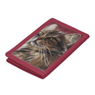 Beautiful Dreamer - Maine Coon Cat Wallet
