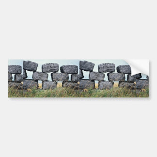 Beautiful Dry stone wall Bumper Sticker