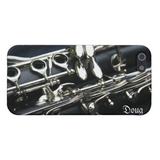 Beautiful Dual Clarinets iPhone 5 Case