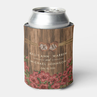 Beautiful Dusty Rose Lily Flowers Can Cooler