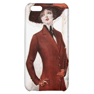 Beautiful Early 1900's Woman Cover For iPhone 5C