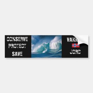 Beautiful Earth Bumper Sticker