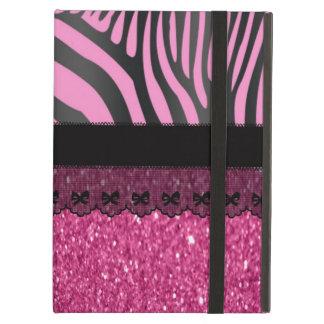 Beautiful elegant girly  zebra shinning glitter