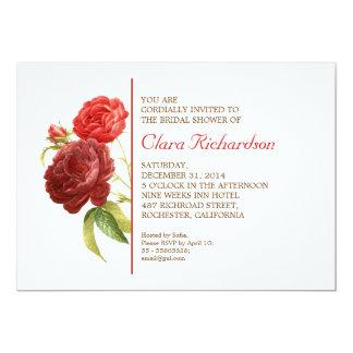 "beautiful elegant modern bridal shower invitation 5"" x 7"" invitation card"
