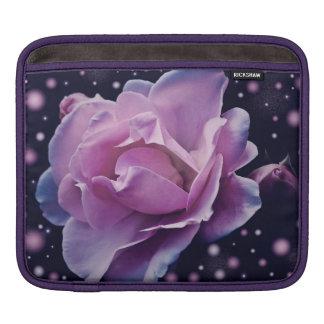 beautiful elegant stylish flower | purple rose iPad sleeve