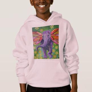 Beautiful elephant image hoodie