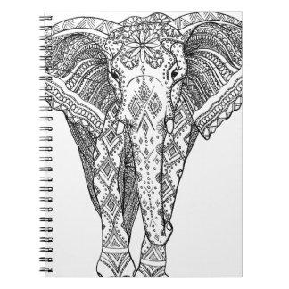 Beautiful Elephant Notebook