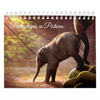 Beautiful Elephant Photographs Calendar