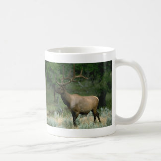 Beautiful Elk Basic White Mug
