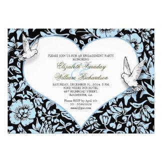 beautiful engagement party custom invitations