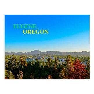 Beautiful Eugene, Oregon Panoramic Postcard! Postcard