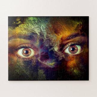 Beautiful Eyes Jigsaw Puzzle