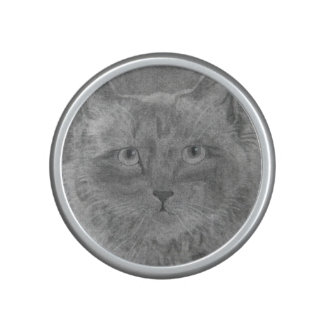 Beautiful Eyes Siamese Cat Bluetooth Speaker