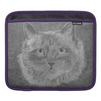 Beautiful Eyes Siamese Cat iPad Sleeve