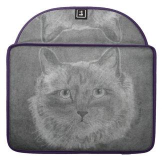 Beautiful Eyes Siamese Cat MacBook Pro Sleeve