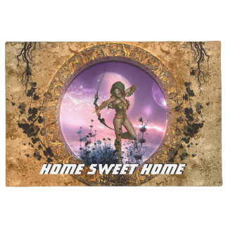 Beautiful fairy doormat