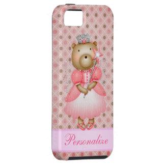 Beautiful Fairy Princess Bear iPhone 5 Tough iPhone 5 Case