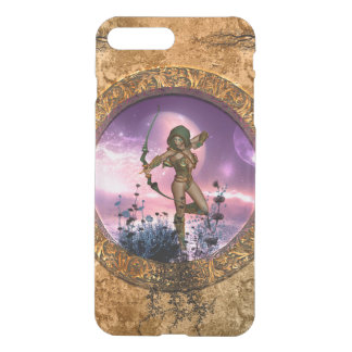 Beautiful fairy with arrow and bow iPhone 7 plus case