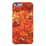 Beautiful Fall Leaves iPhone 6 case gifts Thanks Barely There iPhone 6 Case