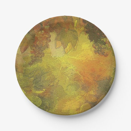 Beautiful Fall Paper Plates 7 Inch Paper Plate Zazzle  sc 1 st  Castrophotos & Fall Paper Plates - Castrophotos