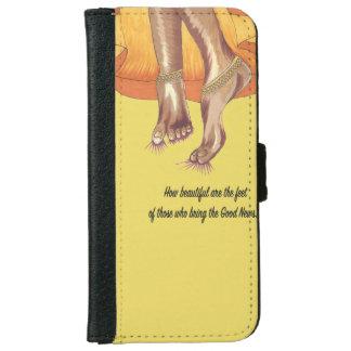 Beautiful Feet phone wallet case