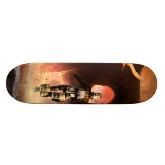 Beautiful fighter in the universe 20.6 cm skateboard deck