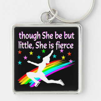 BEAUTIFUL FIGURE SKATING DESIGN KEY RING