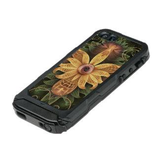Beautiful Filigree Oxidized Copper Fractal Orchid Incipio ATLAS ID™ iPhone 5 Case